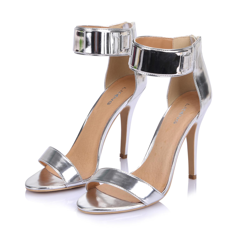 liking damen sandalen sandaletten keilabsatz wedges zehentrenner keilsandalen. Black Bedroom Furniture Sets. Home Design Ideas