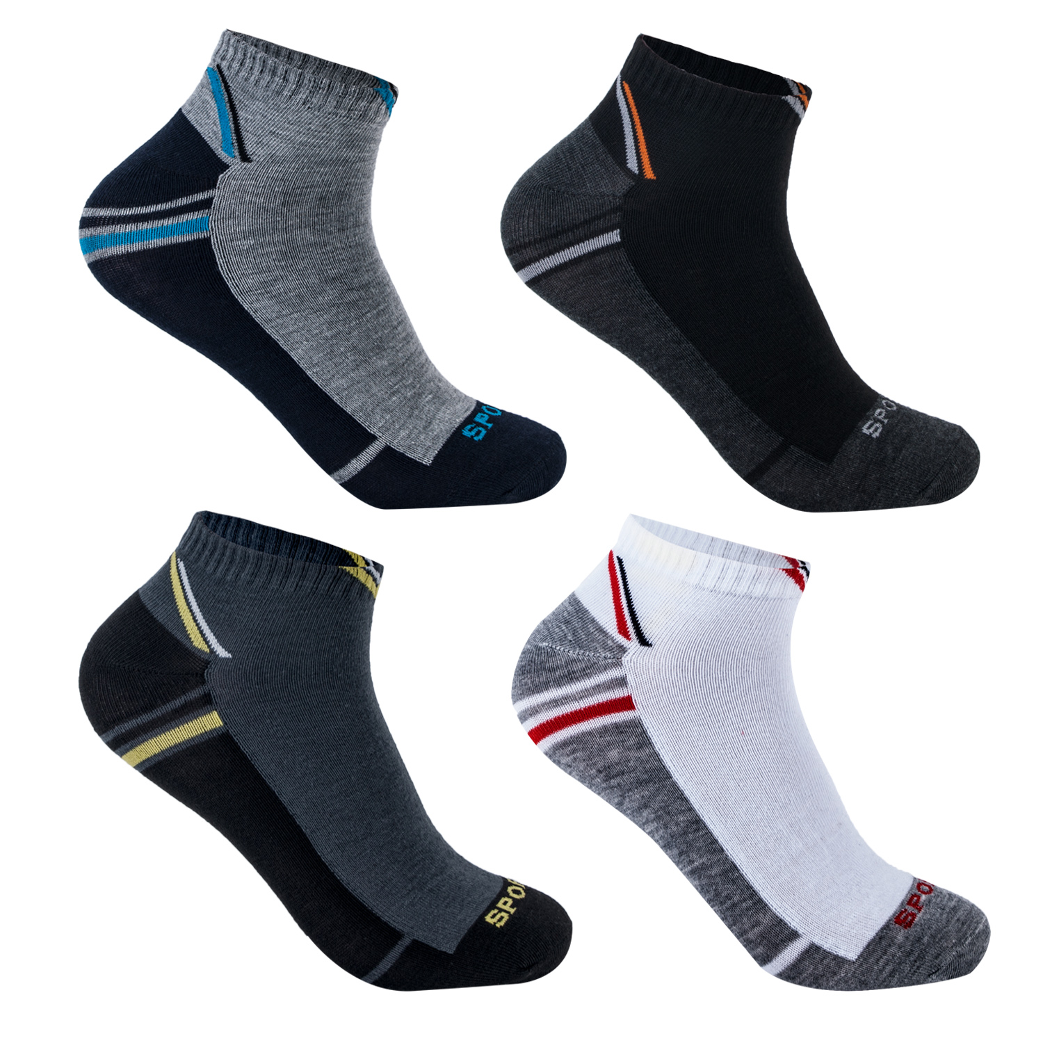 12 24 paar damen herren sneaker socken f sslinge sportsocken freizeit kurzsocken ebay. Black Bedroom Furniture Sets. Home Design Ideas