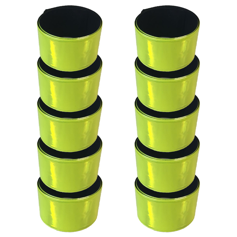 reflektorb nder 2 4 6 10er armband reflexband. Black Bedroom Furniture Sets. Home Design Ideas